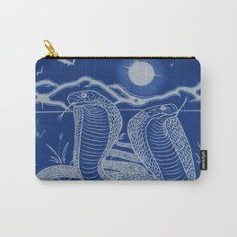 Two-headed Snake: Provider and Protector Carry-All Pouch