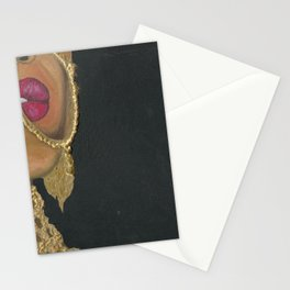 Woman With Jewelry Stationery Cards