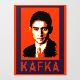 Authors of Note - Franz Kafka Canvas Print