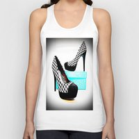 shoe Tank Tops featuring Shoe Lust by 2sweet4words Designs