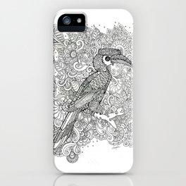 Hornbill of Malaya iPhone Case