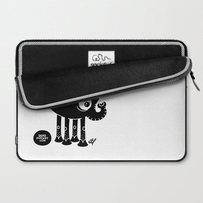 Black Elephant Laptop Sleeve