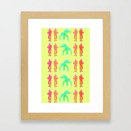 Geth Everywhere Framed Art Print