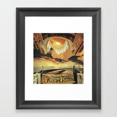 monochromatic vision...  Framed Art Print