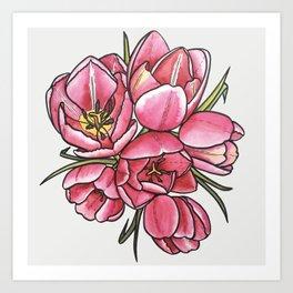 Springtime Florals Art Print