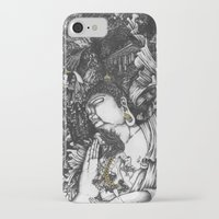 voyage iPhone & iPod Cases featuring Voyage by Bjan Bernabe