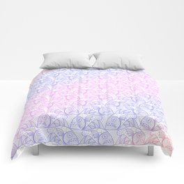 EscherFishes 2 Comforters