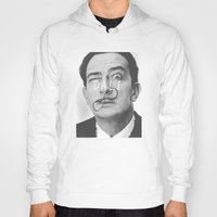 salvador dali Hoodies featuring Salvador Dali by Earl of Grey