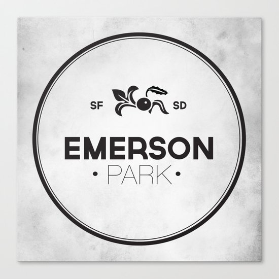 Emerson Park Canvas Print