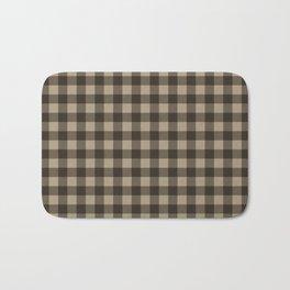 Plaid (brown/beige) Bath Mat