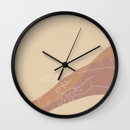 The Touch (Right Hand) Wall Clock