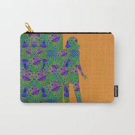 """""""Be yourself (Pop Fantasy Colorful Woman)"""" Carry-All Pouch"""