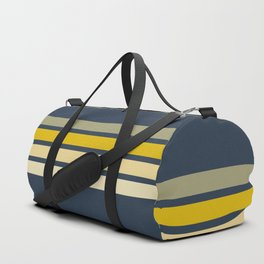 Racing Retro Stripes Duffle Bag