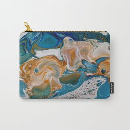 Matter of Time Macro Print Carry-All Pouch