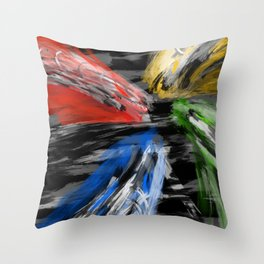 Nameless Abstract  Throw Pillow