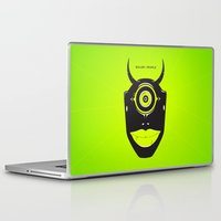 cyclops Laptop & iPad Skins featuring Boiler Cyclops by JP Jordaan