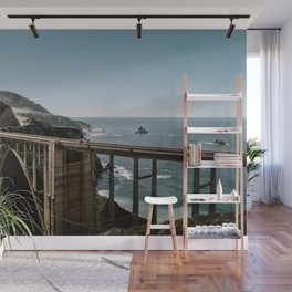 Bixby Bridge in Big Sur California Wall Mural