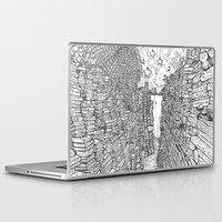 library Laptop & iPad Skins featuring the Library by KadetKat