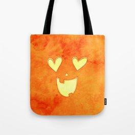Lovey Jack O' Latern Tote Bag