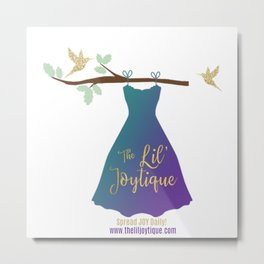 The Lil' Joytique,llc logo Metal Print