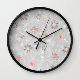 Sweet Nectar Wall Clock