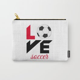 Love soccer Carry-All Pouch