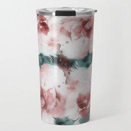 Liquid rose Travel Mug