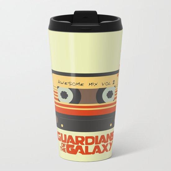 Music, Guardians of the Galaxy, Movie Metal Travel Mug