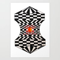 fibonacci Art Prints featuring Fibonacci by Jose Luis