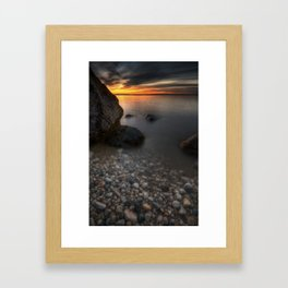 Here Comes the Sun Framed Art Print