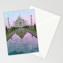 Mandala Taj Stationery Cards