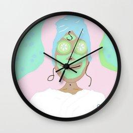 Super Spa Sunday Wall Clock