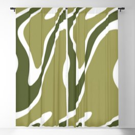 Swirls of Color Blackout Curtain