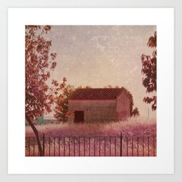 La casita Art Print