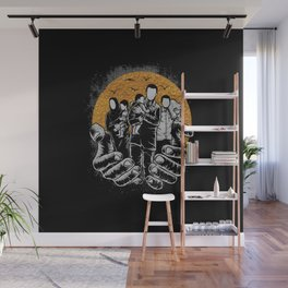 Refugees Welcome Wall Mural