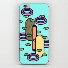Hot dog Plain iPhone & iPod Skin