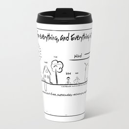 A place for everything, and Everything in its Place Travel Mug