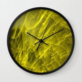 Laser Lights Wall Clock