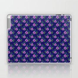 Peony Floral Floating Pattern Laptop & iPad Skin
