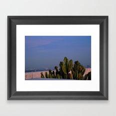 cactus composition Framed Art Print