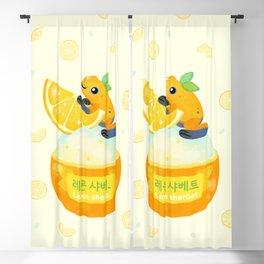 Golden poison lemon sherbet 2 Blackout Curtain