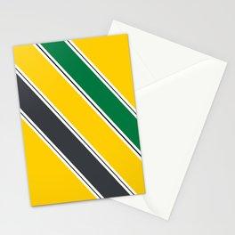 Ayrton Senna Stripes Stationery Cards