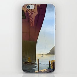 ANGRY FISHER iPhone Skin
