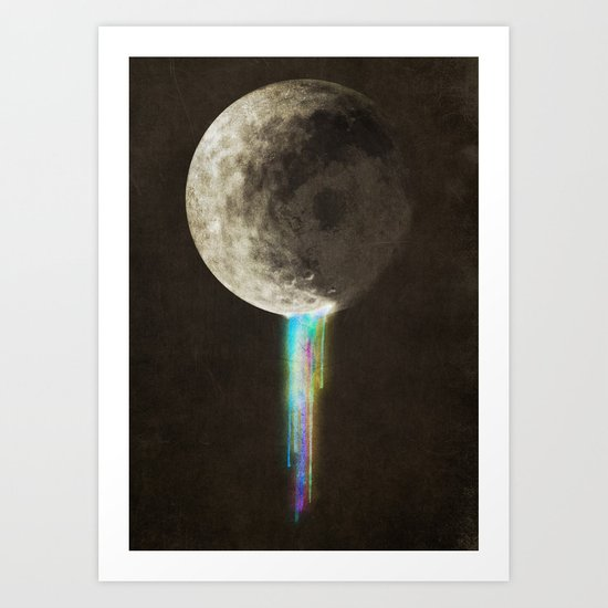 Color Bleed Art Print