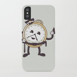 TimeCop iPhone Case