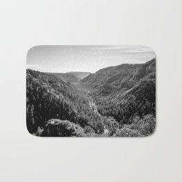 Black & White Arizona Bath Mat