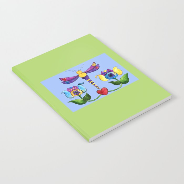 Dragonfly Love Notebook