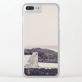 Castelo Jorge lisboa Clear iPhone Case