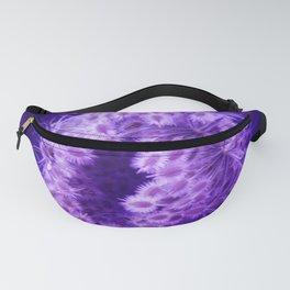 Dark Purple Closing Queen Anne's Lace Fanny Pack