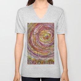 Watercolor Loe Unisex V-Neck